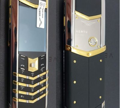 Верту Vertu Signature S Design Chrome Gold реплика