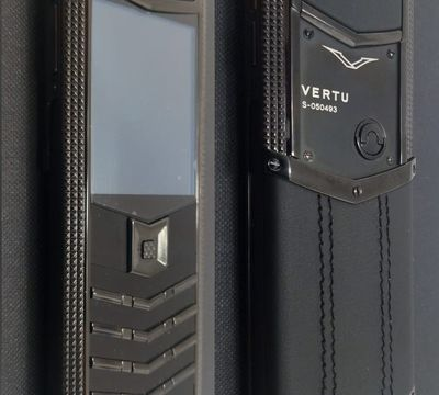 Верту Vertu Signature S Design Bentley Black реплика
