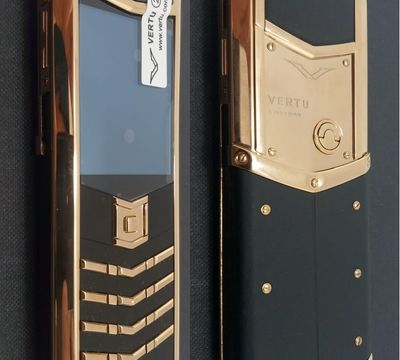 Верту Vertu Signature S Design Black + Gold реплика